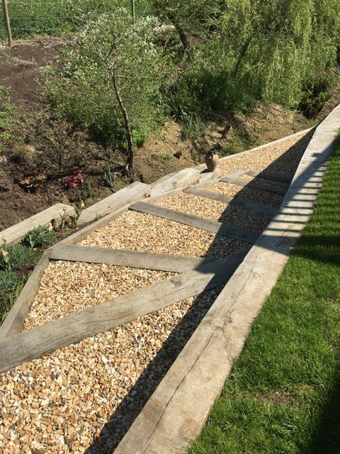 garden construction in wiltshire